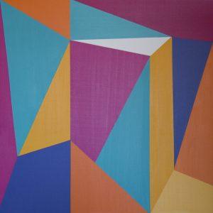 La geometría sugerente de Marianela Pérez